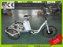 2014 hot electric tricycle pedicab tri-cycle e trike