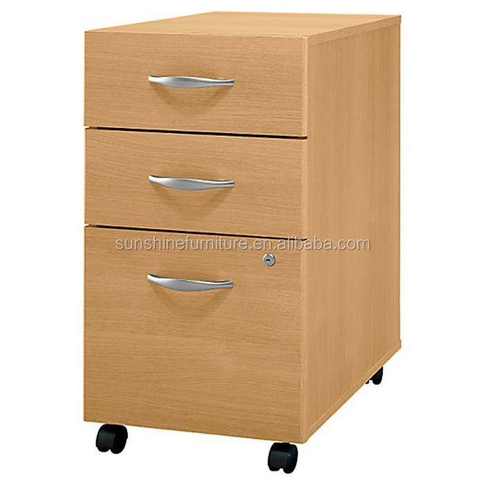 movable business furniture office cheap 3 drawer file cabinet