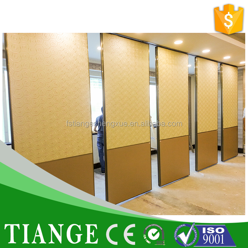 Acoustic movable partition acoustic silent movable partition for conference