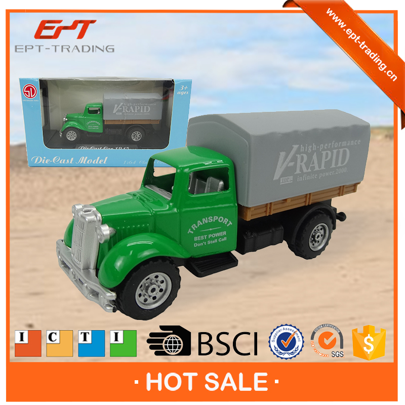 1/ 64 die cast model truck container toys for sale