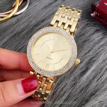 Clock Geneva Ladies Watch Roman Numerals Quartz Stainless Steel Wrist Men Watch Casual Women Watches Women Relogio Feminino