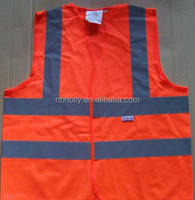 Highway traffic reflective safety vest