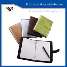 A5 loose leaf leather journal diary notebook