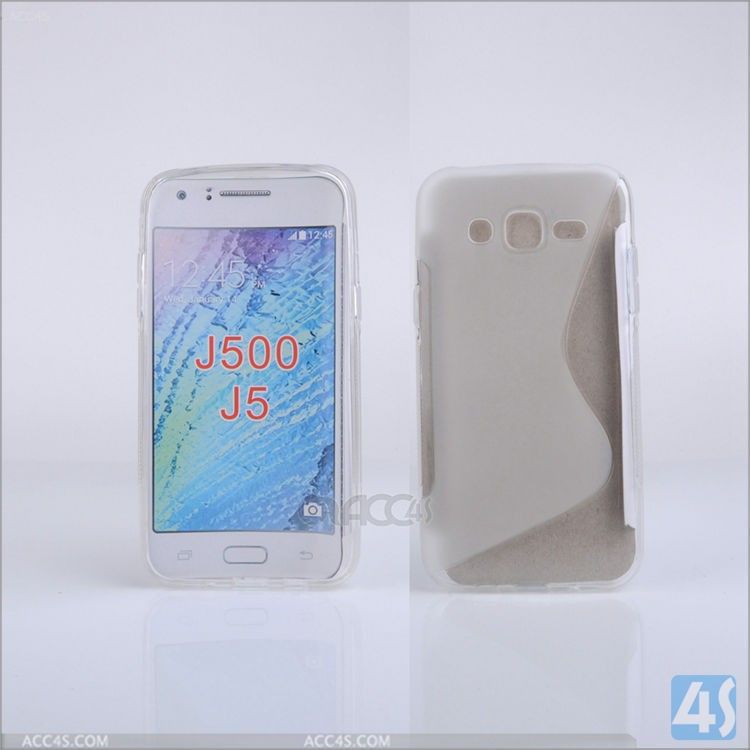 For Samsung Galaxy J5 Mix Colors S line Soft Gel TPU Cover Case