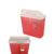 5qt Wall Mounted Medical Sharps Container Biohazard Waste Container Box