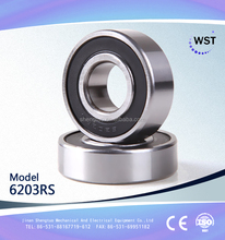 nsk 6203 2rsc3 deep groove ball bearing 6203 zz for motorcycle ceiling fan made in China