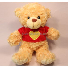 plush teddy bear toy for baby factory customed OEM promotional gift