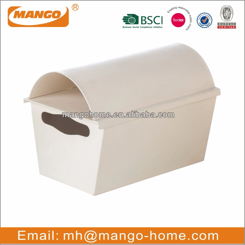 Cream color galvanized steel mail box / small letter box