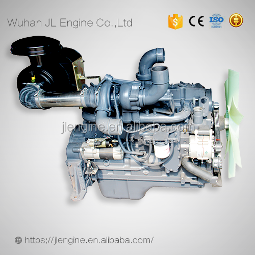 gasoline engine JL6114 12V gas fuel engine assembly 8.3L natural gas excavator engine