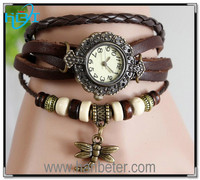 Super quality wrist watches wholesale price vintage style bracelet watch