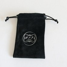 Wholesale Good Quality Fabric Drawstring Pouch Packaging Gift Velvet Bag
