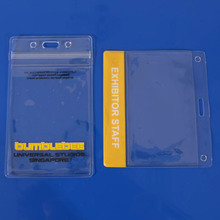 Top quanlity clear vinyl card holder