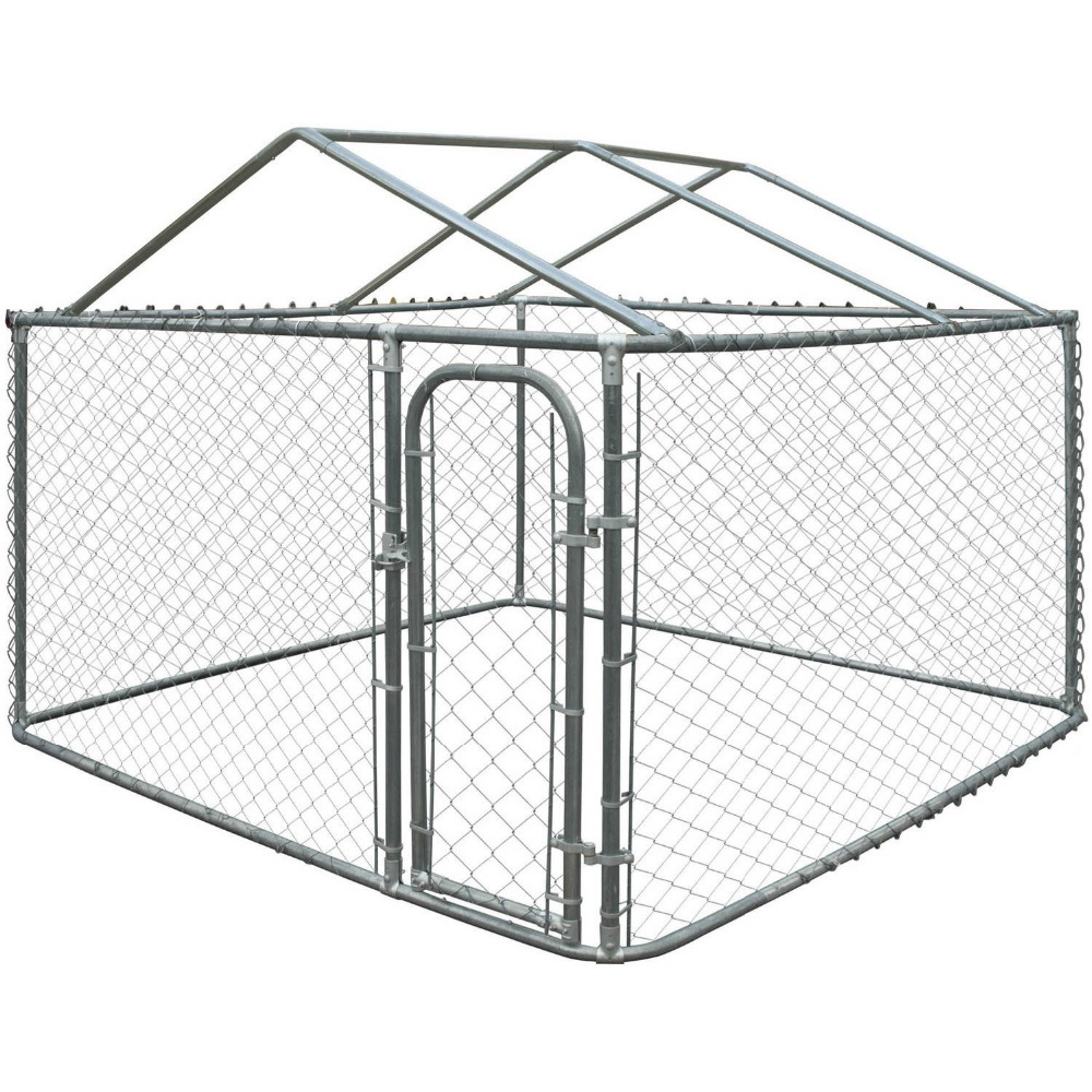 2015 hot sale low price durable and anti-rust galvanized safe outdoor dog cages/dog kennels