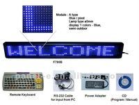 7X80 acrylic led sign board,led message board remote control,led windows sign(Direct Manufacturer)