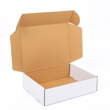 Customized CMYK Printed Headphone Corrugated Shipping Box Electronic Accessories Recycled Cardboard Packaging