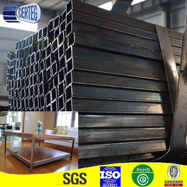 <strong>Q195</strong> 1.5mm Black welded Square steel hollow section tube for africa