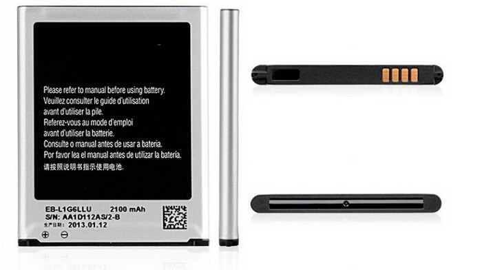 2100mA High Capacity Battery For Samsung i9300 Battery Galaxy S3 battery
