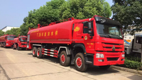 30-35ton Howo fire fighting pumper truck