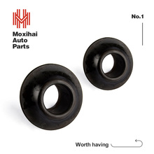 Custom Shock absorber rubber pipe sleeves, silicone rubber bushing