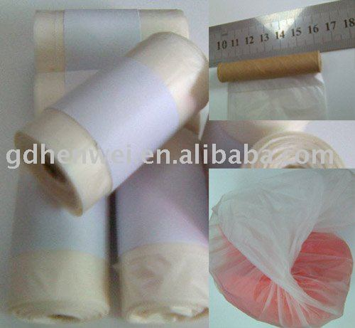 eco-friendly biodegradable bags, pet waste bags in roll