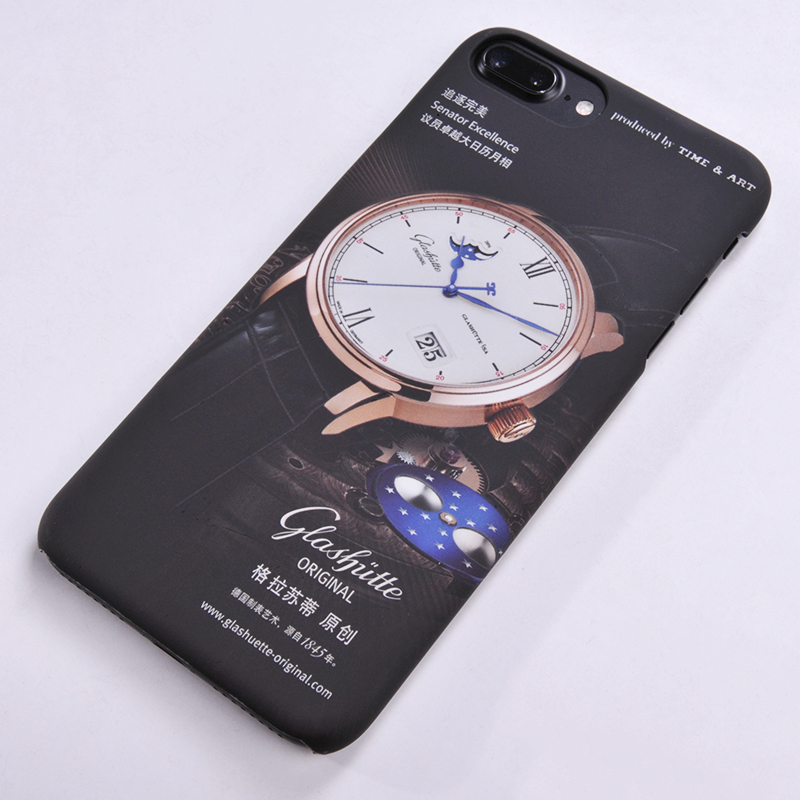 3D colorful mobile phone accessories water transfer printing OEM custom mobile phone case for iphone 7 8 10 X case