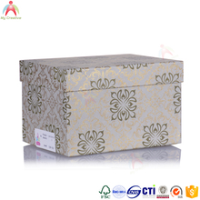 professional fancy design manufactures hard custom gift paper box