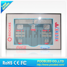 led score screen \ led stadium score display \ live cricket score update led display screen