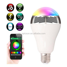 Smart Bulb Rohs Ce Ul Approved Security Light E14 P45 Dimmable Bulb Filament Bluetooth Speaker Led Bulb