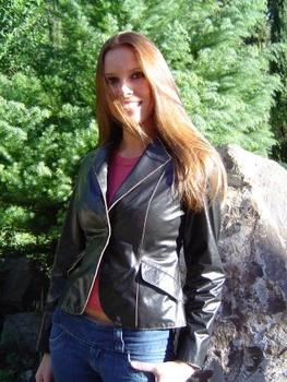 Special Woman Leather Jacket