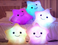 Hot Plush Pillowled pillow factory price multi-color led glowing pillow series shape pillow hot sale