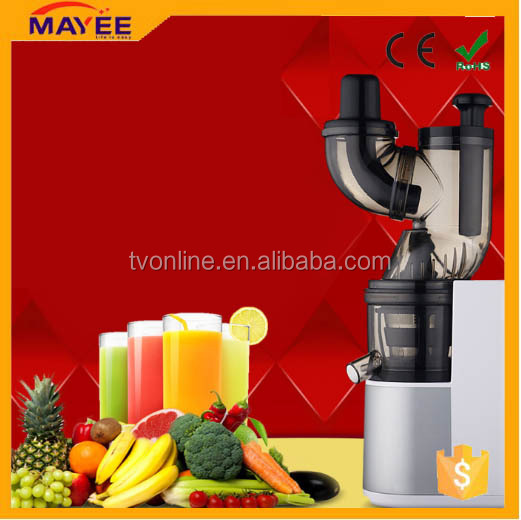 High quality 65rpm 150w cold press juicer/slow juicer extractor/juice extractor for kitchen appliances