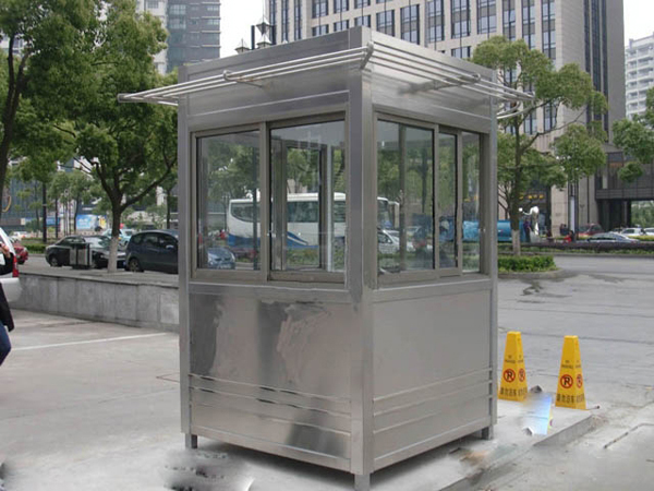 Highest quality metal and components Mobile prefabricated modular public security sentry box
