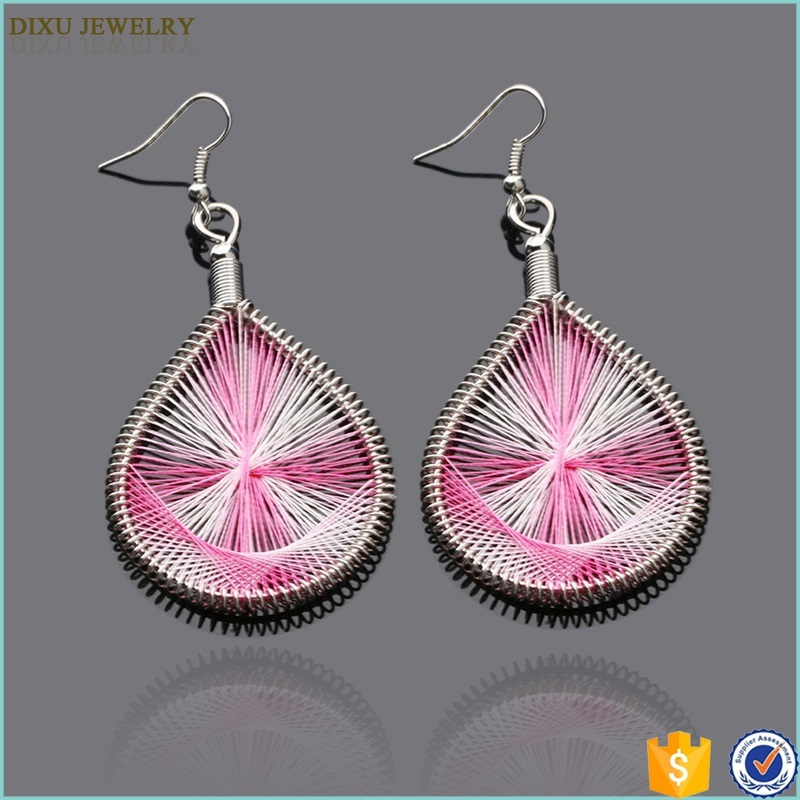 Yiwu Fashion Jewelry Factory Wholesale Hanging Cheap Earrings Made in China