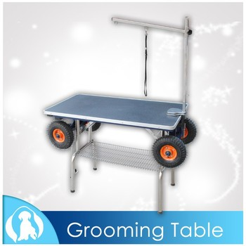 2015 Newest Professional Steady Pet Grooming Table with trolley function N-301W