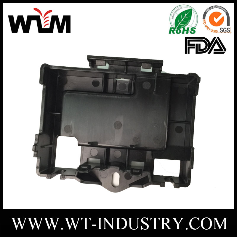 Polish ABS+PC plastic injection molding companies / plastic micro printer case molding parts