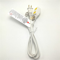 6 Feet Vinyl Cube Tap UL wire extension cord