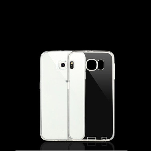 0.6mm Clear TPU phone case cover for Samsung Galaxy S6 mobile covers