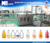 Glass Bottled Water Bottling Filling Capping Machine / Production Line / Equipment