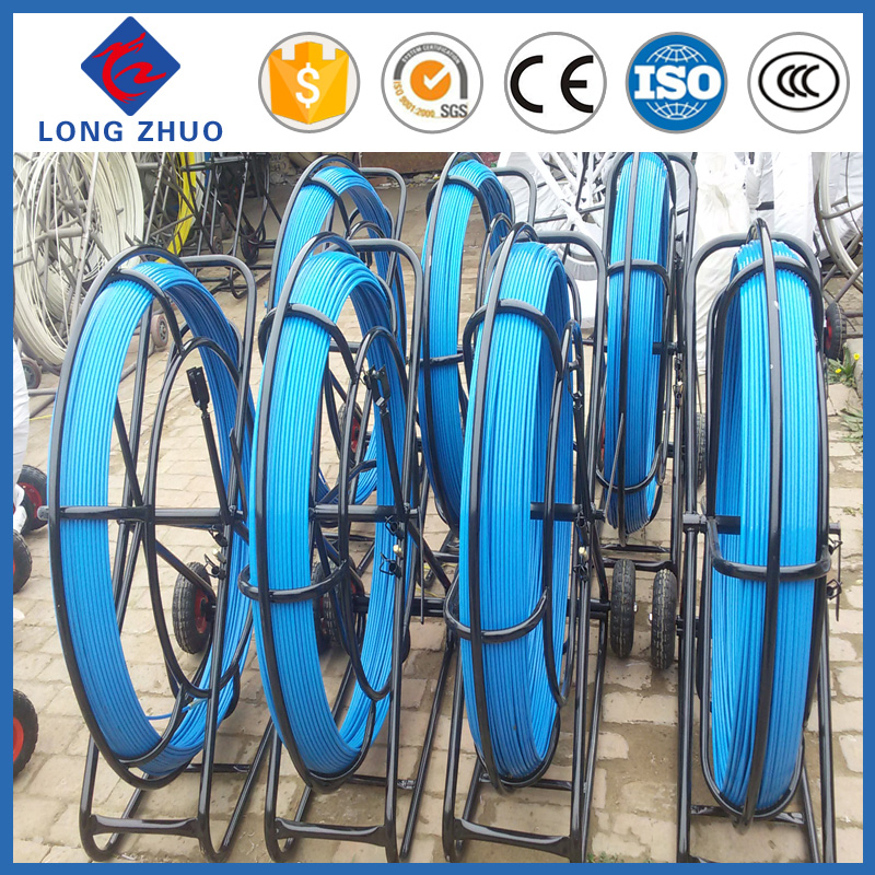 Fiberglass snake rods,China fiberglass duct rodder price,FRP cable laying tools