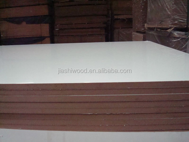 Furniture Plain Mdf Board / Raw Mdf Sheet/melamine coated Mdf board