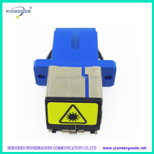 factory price single mode SC/PC fiber optic coupler with dust cover