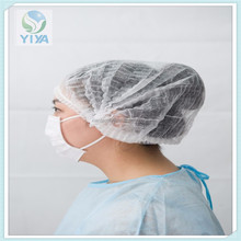 safety non woven polypropylene bouffant cap/food worker's hair cover