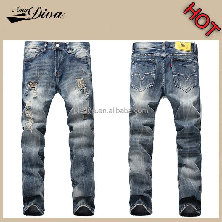 New style boys pants jeans classical export wholesale guangzhou denim jeans