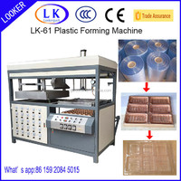 APET,PETG,GAG, PS,PP, PVC thermoforming machine
