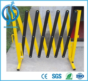 High Quality Expandable Mobile Barrier Fence Expandable Rolling Gates Folding Metal Barrier