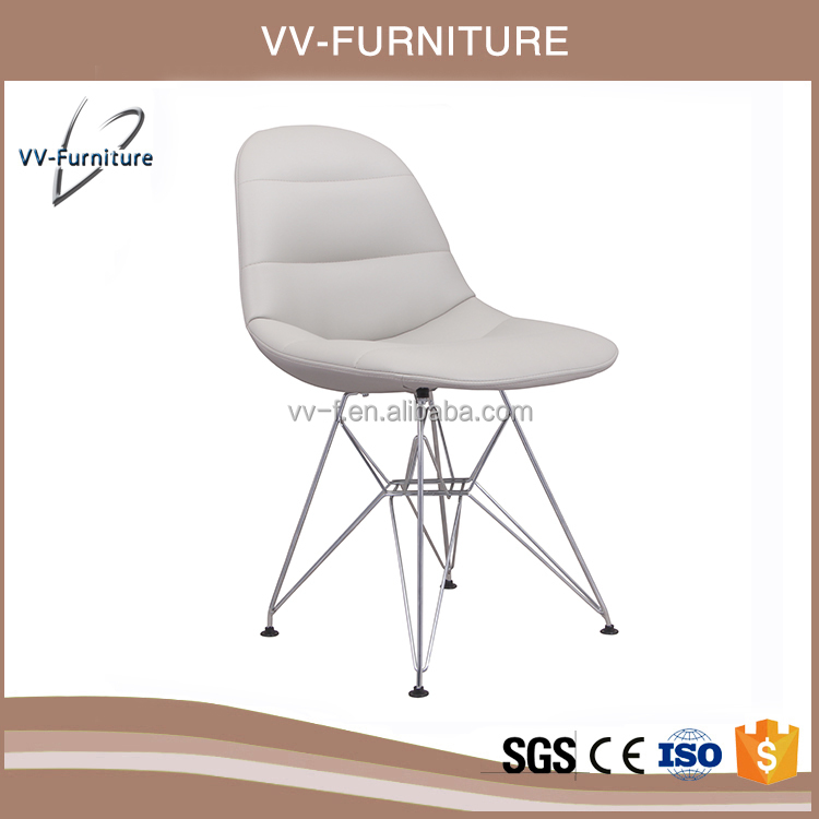 dining room chrome frame folding dining modern chair