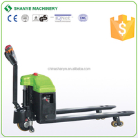 1.5 ton new electric pallet truck with balance wheel automatic lifting pallet truck
