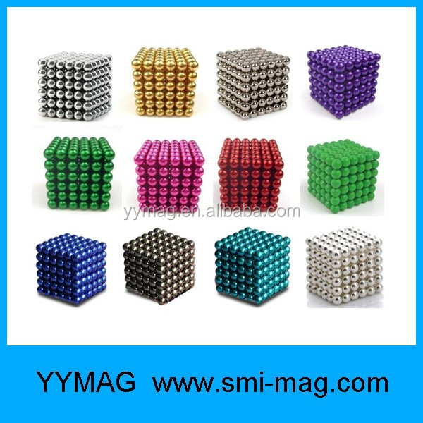 Trade Assurance Neodymium 3mm 5mm Magnets cube magnetic sphere magnetic ball