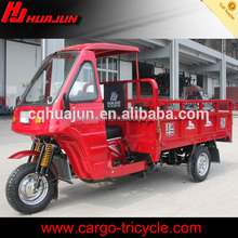 three-wheeled motorcycle 200cc cargo tricycle with cabin three wheeler