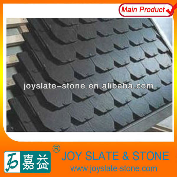 Black slate roof tile/Quality waterproof slate roof